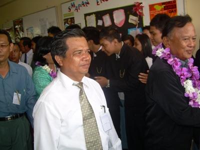 Bapak H.M.Suryani Berserta Bapak Wahyu Witoelar